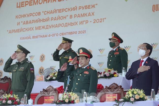 Army Games 2021 tại Việt Nam: Chiến binh Việt Nam và Nga đứng trên bục cao nhất  - Ảnh 1.