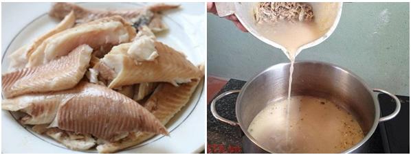 Cách nấu cháo cá chép bổ dưỡng lại không bị tanh cho mẹ bầu - Ảnh 4.