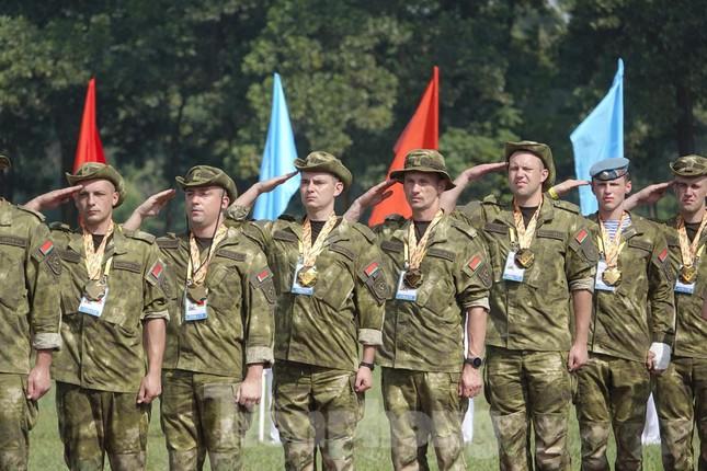 Army Games 2021 tại Việt Nam: Chiến binh Việt Nam và Nga đứng trên bục cao nhất  - Ảnh 6.