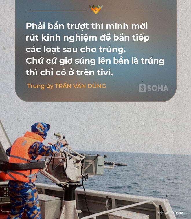 Xạ thủ tàu 016 Quang Trung bắn súng máy 14,5 ly thắng Trung Quốc: Cứ giơ súng lên bắn là trúng thì chỉ có trên tivi... - Ảnh 3.