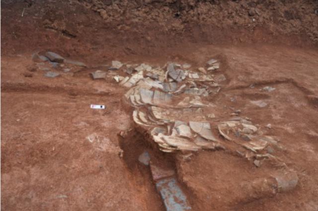 Phát hiện hơn 30 di tích văn hóa trong các ngôi mộ cổ ở miền Trung của Trung Quốc - Ảnh 1.