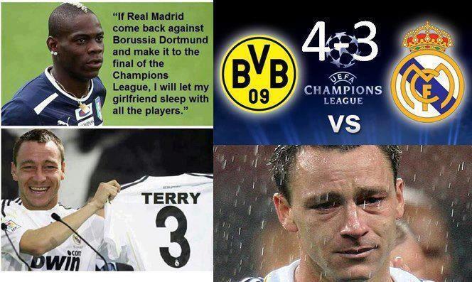 Terry vỡ mộng