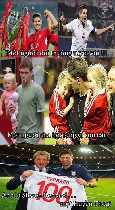 Chúc mừng sinh nhật Gerrard