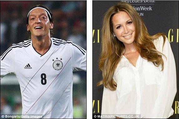 """Tới Arsenal, Ozil mang theo nữ ca sỹ nóng """"bỏng tay"""""""