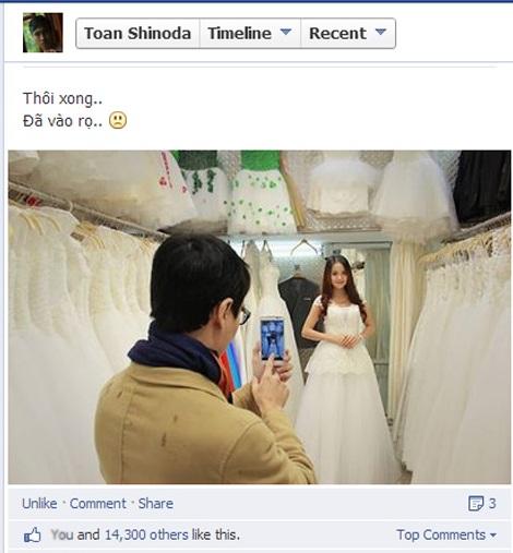 Thực chất, vlogger này có chụp ảnh cưới nhưng lại là ảnh cosplay của tựa game online Audition.