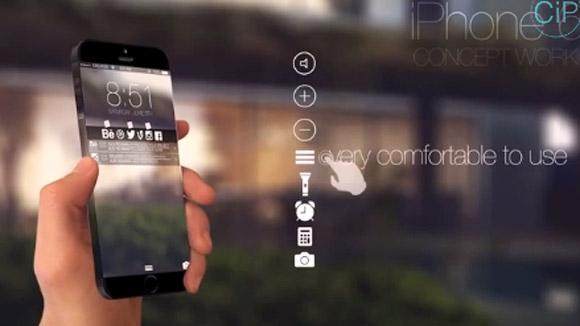 Clip Bản dựng iPhone 6 tràn màn hình
