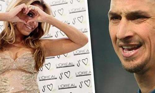 """Ibrahimovic từng """"qua lại"""" với cô nàng Sylvie"""