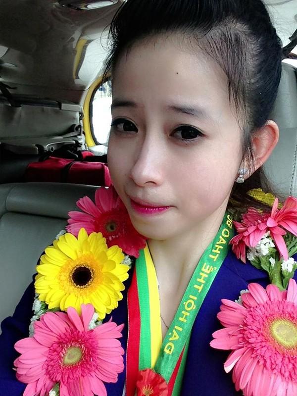 Hot girl Taekwondo Châu Tuyết Vân khoe loạt ảnh rạng rỡ ngày trở về 1