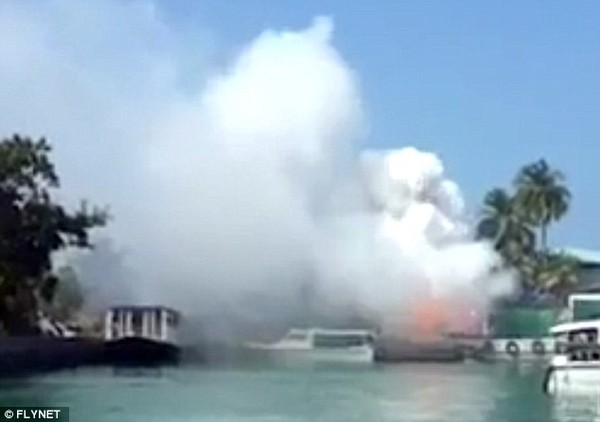 Nơi nghỉ của gia đình Victoria Beckham vừa bị nổ lớn 1