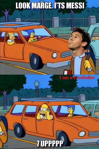 Nếu nhìn thấy Messi trên đường thì bạn sẽ làm gì nào?