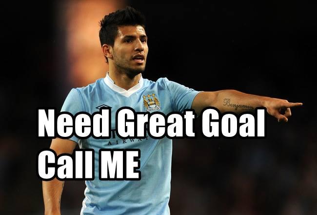 Cần bàn thắng!? Cứ gọi cho Aguero