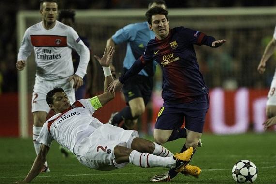 Messi và các đồng đội đã có lần thứ 6 liên tiếp góp mặt ở bán kết Champions League