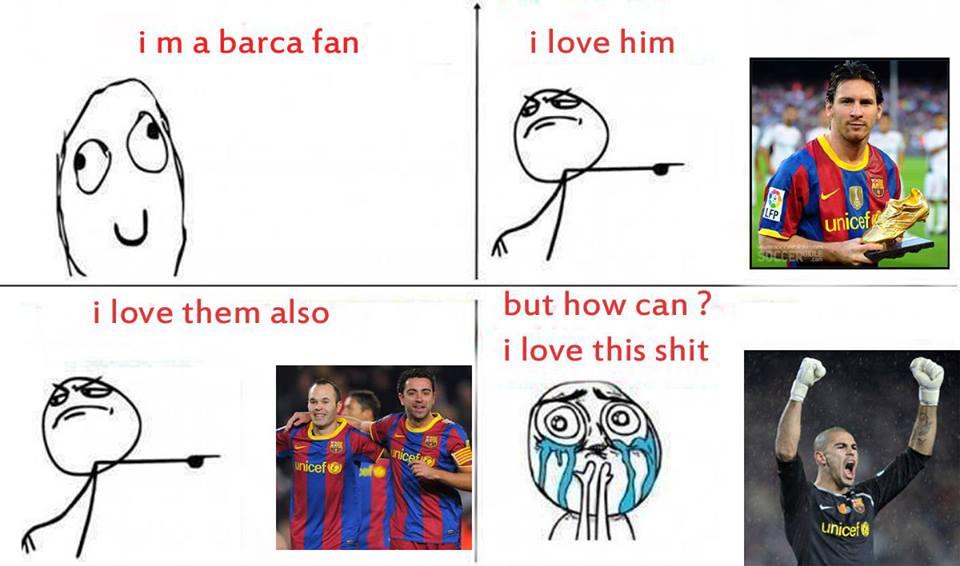 Là fan của Barca thì cũng không thể mê nổi Valdes