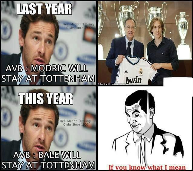 Hôm qua Villas-Boas lại nói Bale ở lại đấy