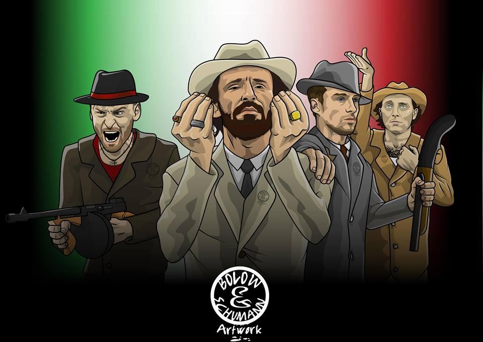 Dàn tiền vệ khủng bố của ĐT Italia