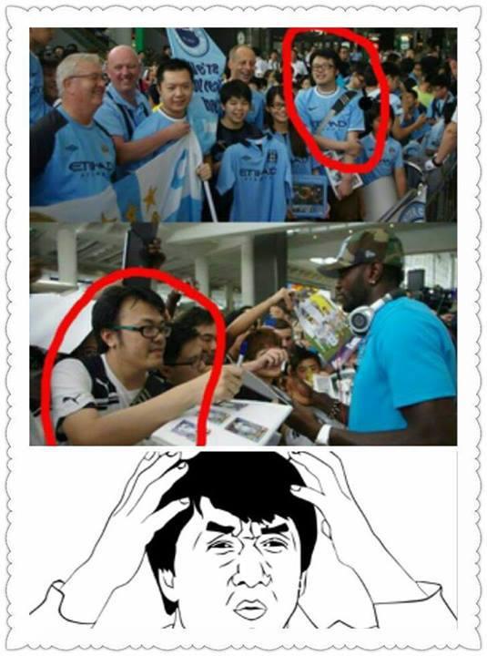 Thế rốt cuộc anh ấy là fan đội nào? Man City hay Tottenham?