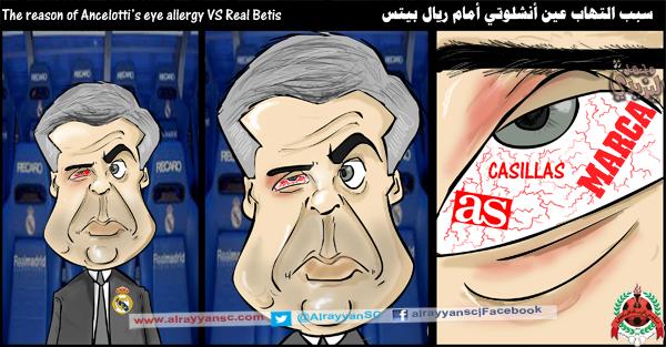 Những cái gai trong mắt của Ancelotti
