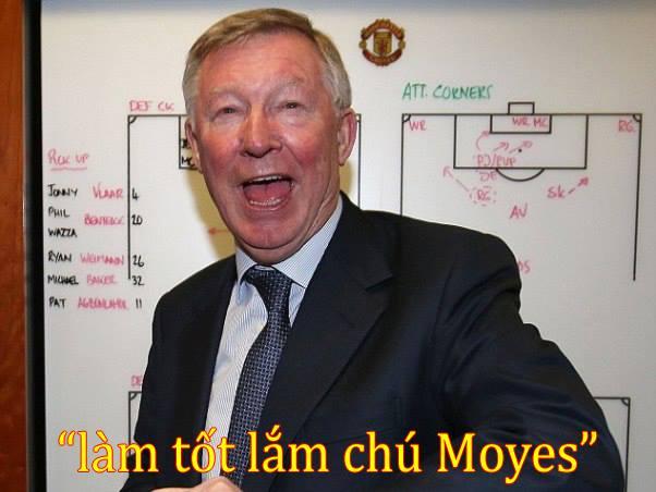 Sir Alex có lời khen cho David Moyes