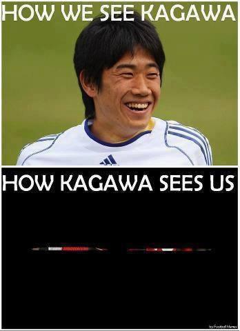Đây là cách Kagawa nhìn thế giới
