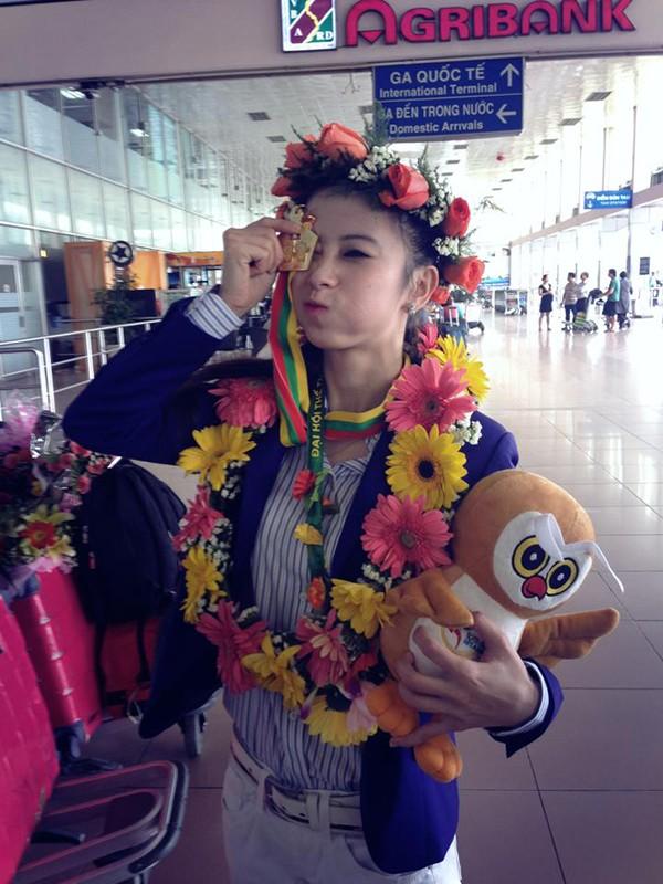 Hot girl Taekwondo Châu Tuyết Vân khoe loạt ảnh rạng rỡ ngày trở về 12