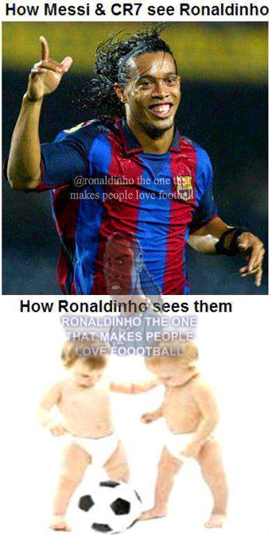 Vẫn là anh, Ronaldinho