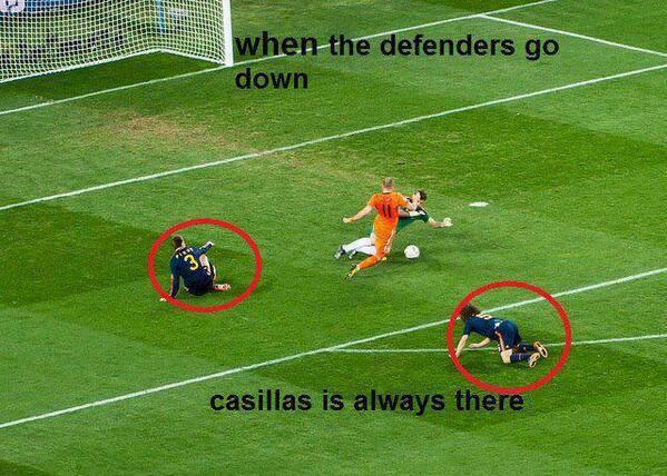 Iker Casillas luôn có mặt đúng lúc, đúng chỗ