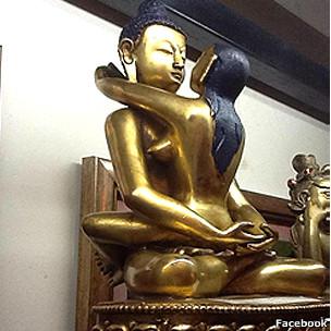 """Giáo hội Phật giáo VN lên tiếng về bức tượng phật """"sắc dục"""""""