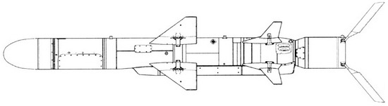 Sơ đồ thiết kế Kh-35