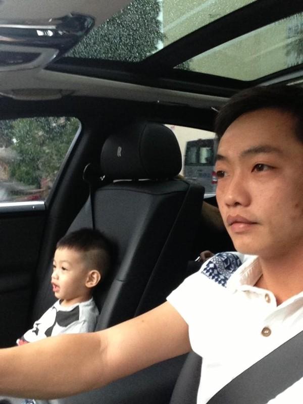 Cường Đô La đưa Subeo đi hiệu sách khi Hà Hồ vắng nhà 2