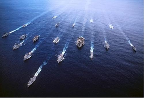 Cụm tàu chiến đấu sân bay Mỹ, thiếu nó không thể gọi là Hải quân tác chiến tầm xa