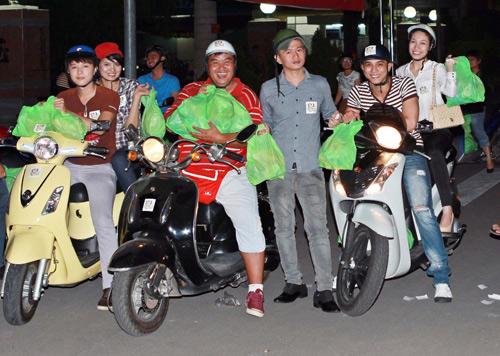 Sao Việt và những kỷ niệm cùng... xe máy 3