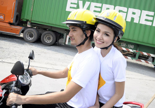 Sao Việt và những kỷ niệm cùng... xe máy 6