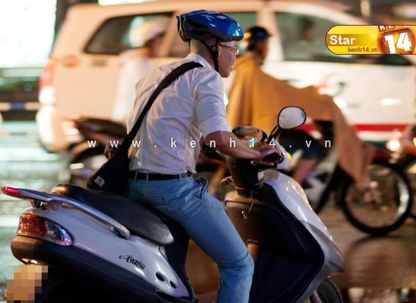 Sao Việt và những kỷ niệm cùng... xe máy 7
