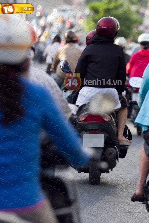 Sao Việt và những kỷ niệm cùng... xe máy 10