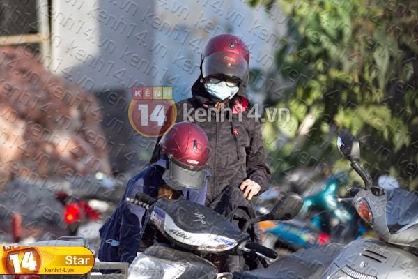 Sao Việt và những kỷ niệm cùng... xe máy 11