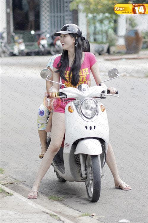 Sao Việt và những kỷ niệm cùng... xe máy 23