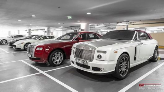 Dàn siêu xe đỉnh cao của đại gia Dubai