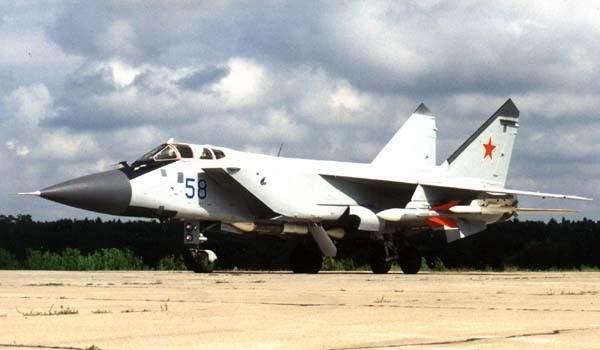 Máy bay tiêm kích Mig-31BM thuộc phân nhóm Многоцелевой барражирующий истребитель trong hệ thống Mig-31 (Photo of www.airwar.ru)