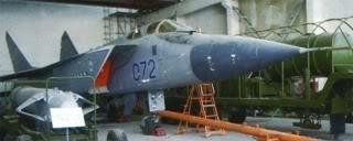 Máy bay tiêm kích đánh chặn vũ khí không gian Mig-31A và tên lửa chống vệ tinh