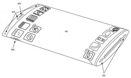 Rò rỉ thiết kế iPhone 5S với màn hình cong và không có nút Home 3