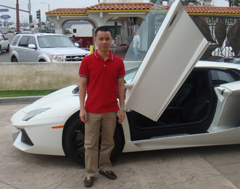 siêu xe, Cường luxury, ông trùm, Cường đô la