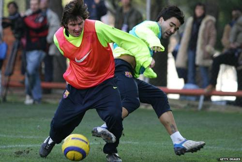 Messi, Real và chiếc giấy ăn định mệnh