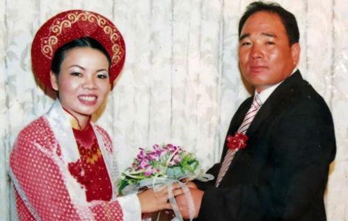 Cô dâu trong lễ cưới tại TP.HCM.