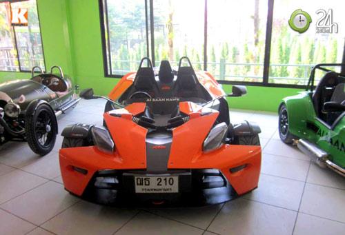 Chiêm ngưỡng dàn siêu xe của đại gia Thái Lan