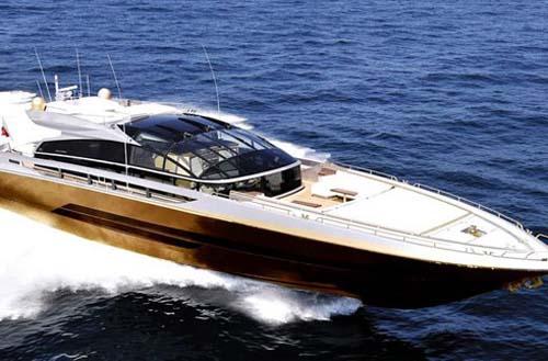 Tỷ phú 'chơi ngông' với du thuyền làm từ 100 tấn vàng