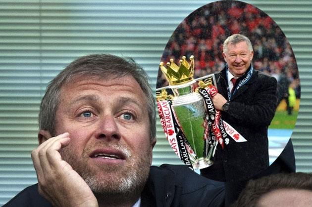 """Abramovich đã từng rất """"thèm muốn"""" Sir Alex Ferguson"""
