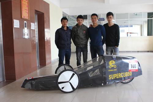 Mẫu xe siêu tiết kiệm nhiên liệu, chạy hơn 600 km chỉ với 1 lít xăng.