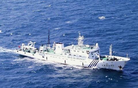 Trung Quốc xua đội tàu hải giám xâm phạm chủ quyền của nhiều nuớc láng giềng