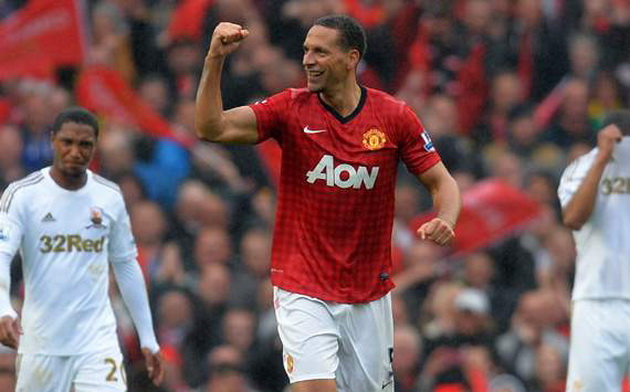 Rio Ferdinand quyết định tiếp tục gắn bó với M.U. (Nguồn: Getty)