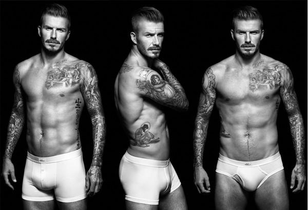 Học Ronaldo và Beckham, Messi cởi đồ làm mẫu nội y 8